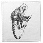 Mono del capuchón servilletas de papel