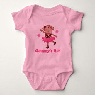 Mono del chica de Gammys Body Para Bebé