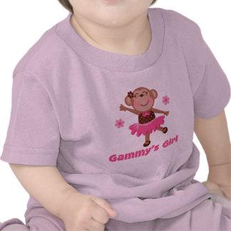 Mono del chica de Gammys Camiseta