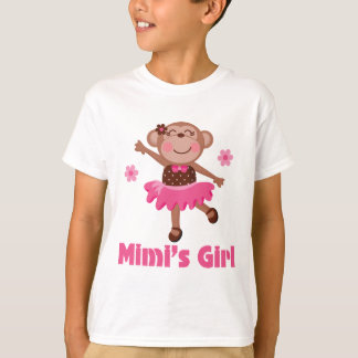 Mono del chica de Mimis Playera