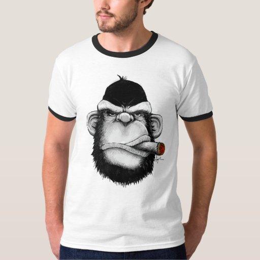 Mono del cigarro poleras