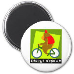 Mono del circo imanes
