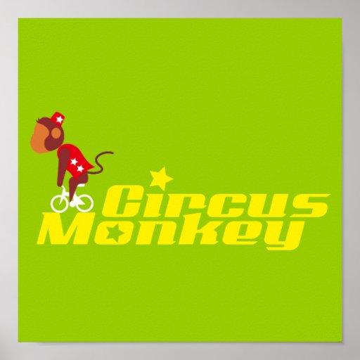 mono del circo poster