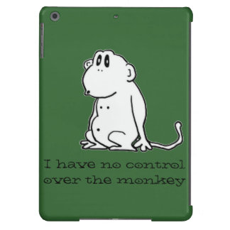 Mono del dibujo animado funda para iPad air