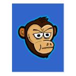 Mono del dibujo animado postales