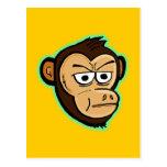 Mono del dibujo animado tarjetas postales