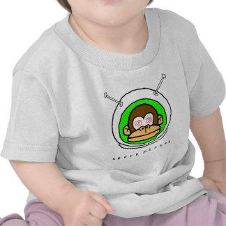 Mono del espacio en… camisetas