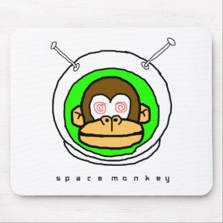 Mono del espacio en… tapetes de ratón