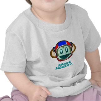 mono del espacio camiseta