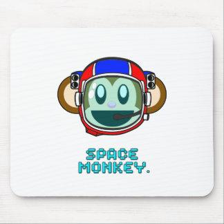 mono del espacio tapete de ratón