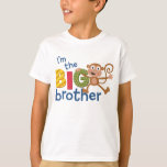 Mono del hermano MAYOR Playera