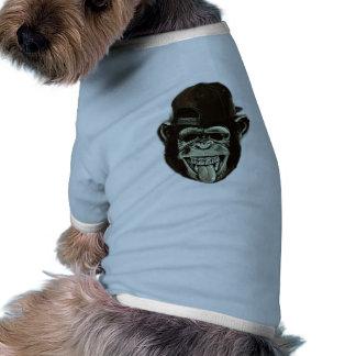 Mono del inconformista tshirt de mascota
