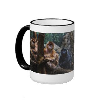 Mono del Langur Taza