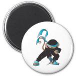 mono del ninja imanes para frigoríficos