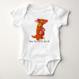 Mono del niño de Kobold del bebé Playera