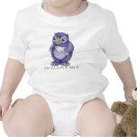 Mono del niño de Owlbear del bebé Camiseta