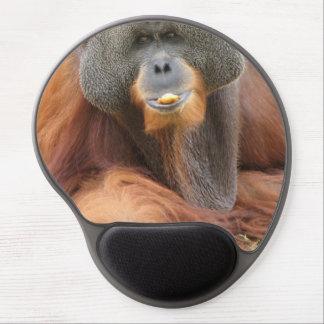Mono del orangután del Pongo Alfombrilla De Raton Con Gel