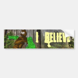 Mono del pantano creo a la pegatina para el parach pegatina de parachoque