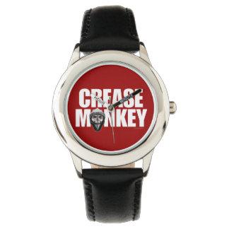Mono del pliegue (portero del hockey) reloj de mano