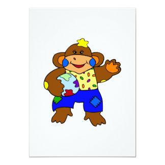 Mono del remiendo anuncios personalizados