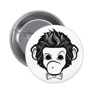 mono del señor pin redondo de 2 pulgadas