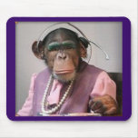 mono del teléfono tapetes de raton