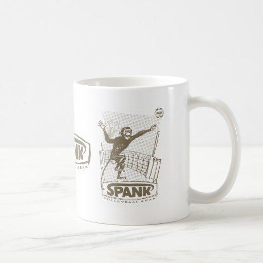Mono del voleibol del azote taza