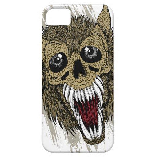 Mono del zombi iPhone 5 Case-Mate protectores