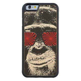 Mono divertido funda de iPhone 6 bumper arce