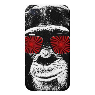 Mono divertido iPhone 4/4S carcasa