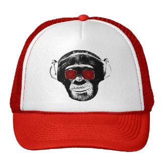 Mono divertido gorra