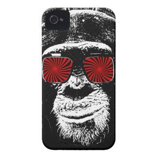 Mono divertido iPhone 4 fundas