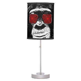 Mono divertido lámpara de escritorio
