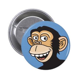 MONO divertido Pin Redondo 5 Cm