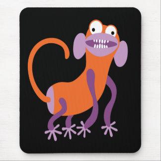 Mono divertido alfombrilla de raton