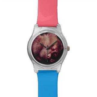 Mono el dormir relojes de mano