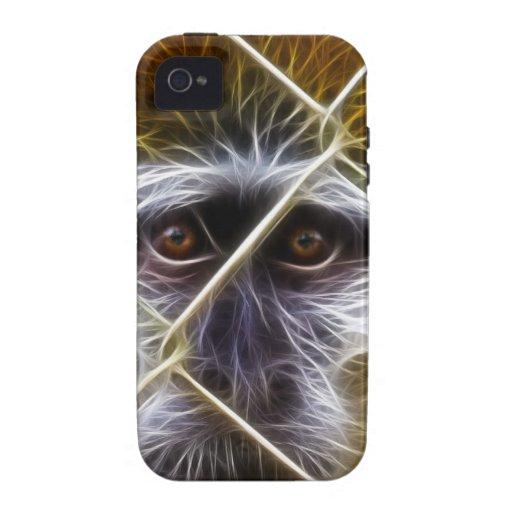 Mono eléctrico de la cerca vibe iPhone 4 carcasas