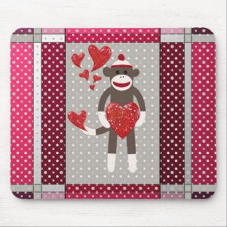Mono en amor tapetes de raton