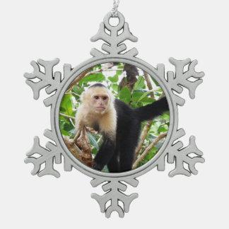 Mono en Costa Rica Adorno