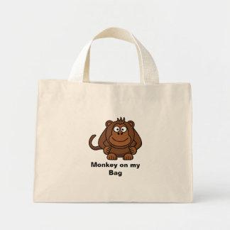 Mono en mi bolso bolsas