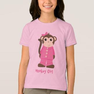 Mono en pijamas playera