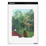 Mono en selva por la piel de Rousseau Ipad 3 Zazzl Pegatinas Skins Para iPad 3