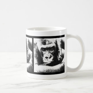 Mono enjaulado - LaRue Taza