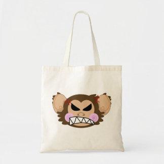 Mono enojado bolsas de mano
