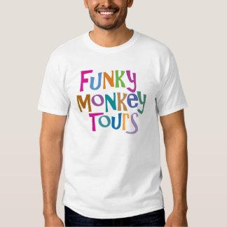 mono enrrollado en viaje playeras