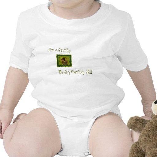 Mono enrrollado traje de bebé