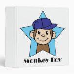 Mono feliz del clip art lindo del dibujo animado