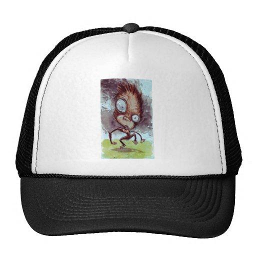 Mono feo salvaje gorras de camionero