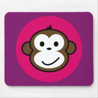 Mono fresco alfombrilla de ratones