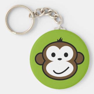 Mono fresco llavero personalizado